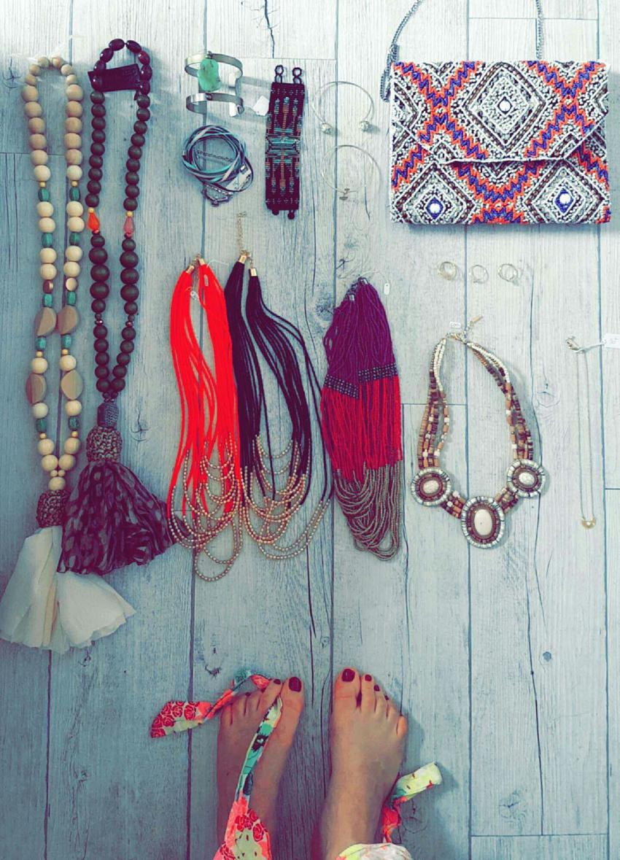 bijoux et visagisme